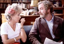 Julie Walters and Sir Michael Caine in a scene from Educating Rita, 1993