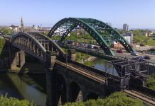 Wearmouth rail and road Bridges