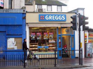 Greggs Bakery Sunderland