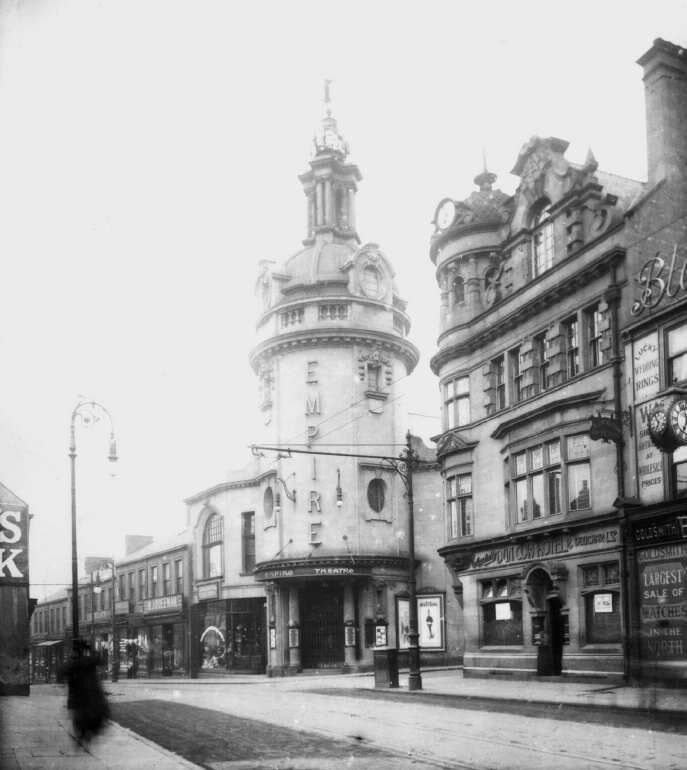 An old photo of the Sunderland Empire