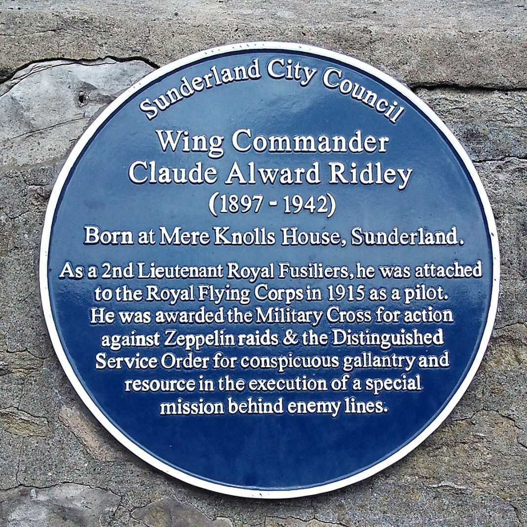 Sunderland Blue Plaque