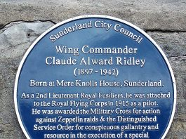 Sunderland Blue Plaque