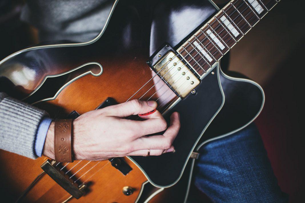 playing guitar 2
