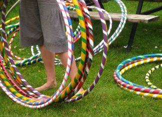 hula hoops