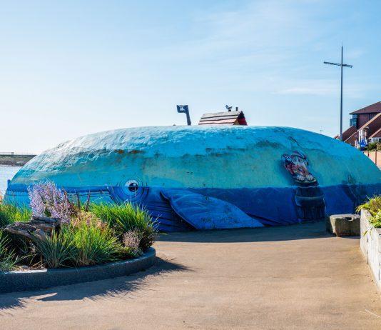 whale mural