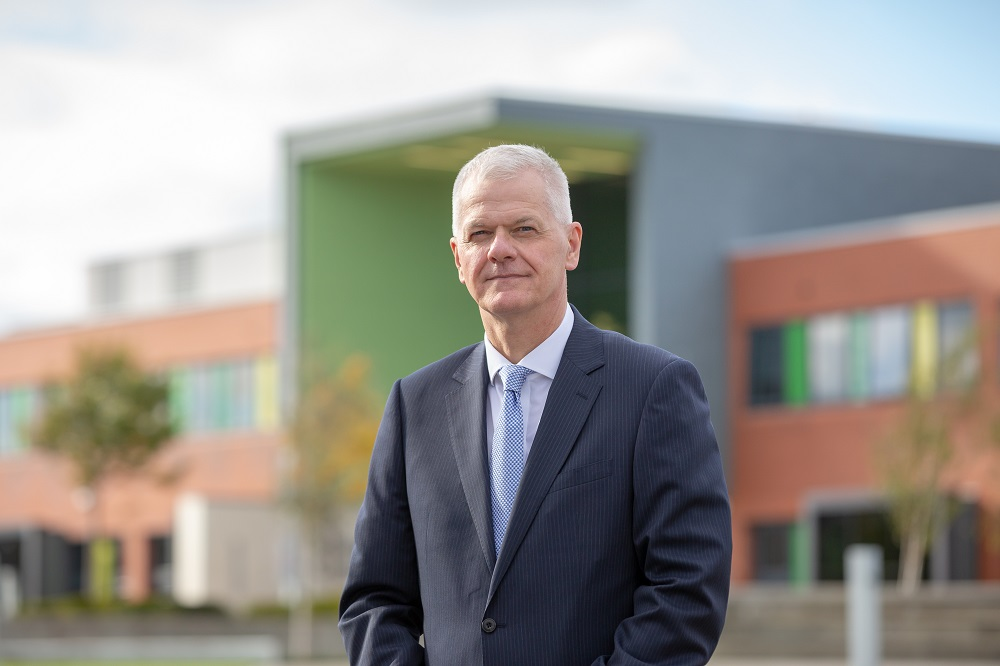 Sir David Bell, Vice-Chancellor and Chief Executive at the University