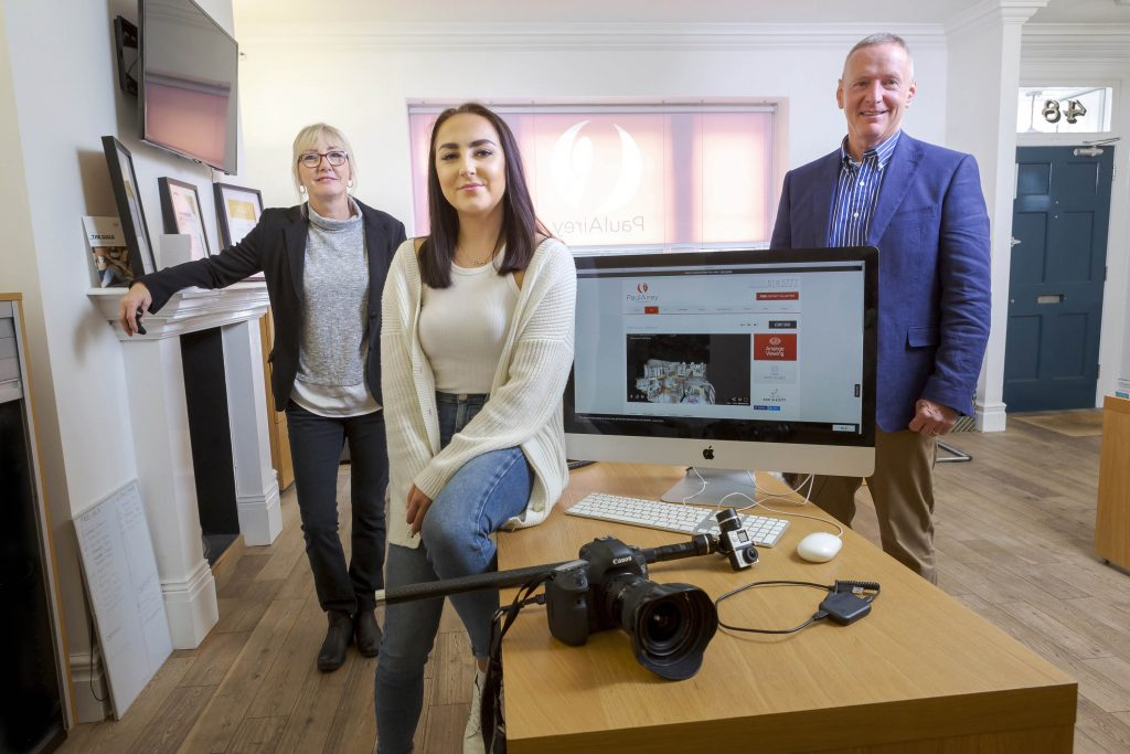 Caitlin lights a Creative Fuse at North East estate agent
