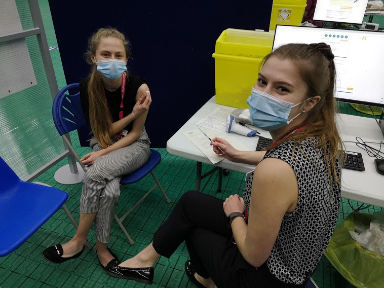 University of Sunderland's Student Doctors Actively Playing A Part In Vaccine Roll-out