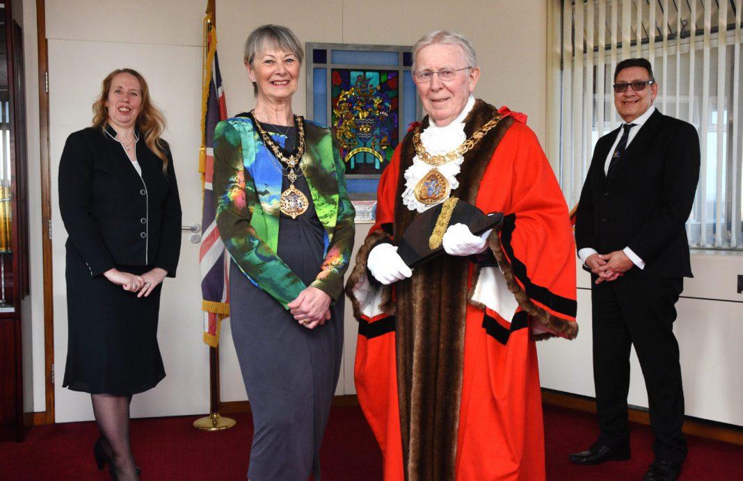 Cllr Henry Trueman Welcomed As Sunderland's New Mayor