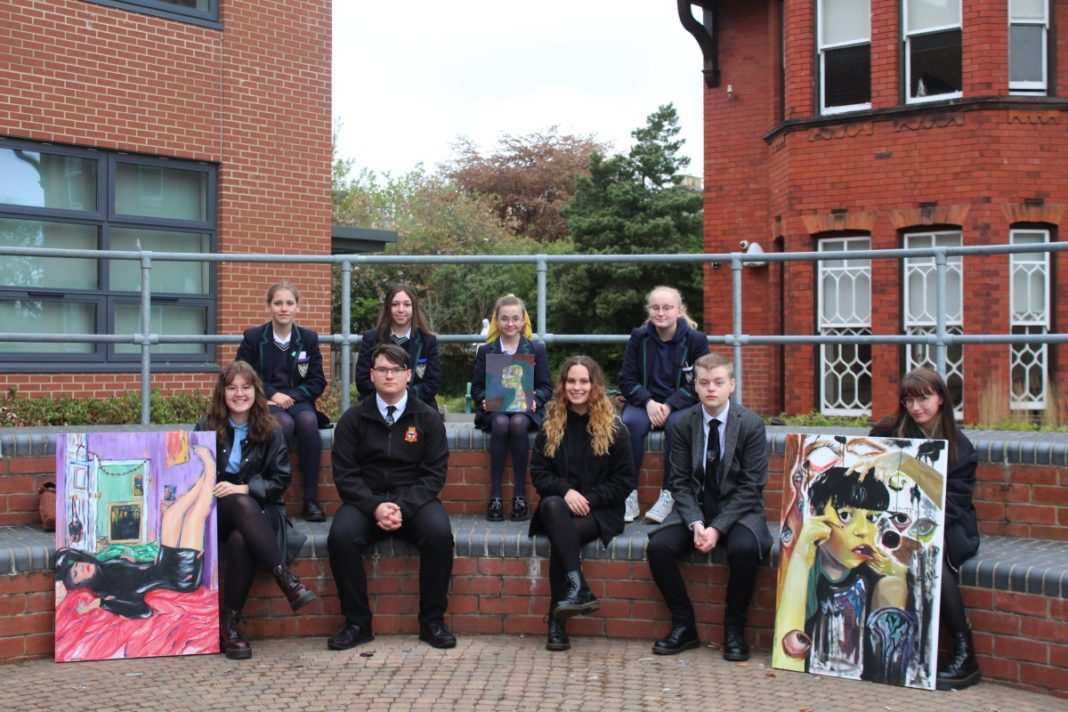Outstanding Sunderland Students Showcase Their Talent In Local Art Exhibition