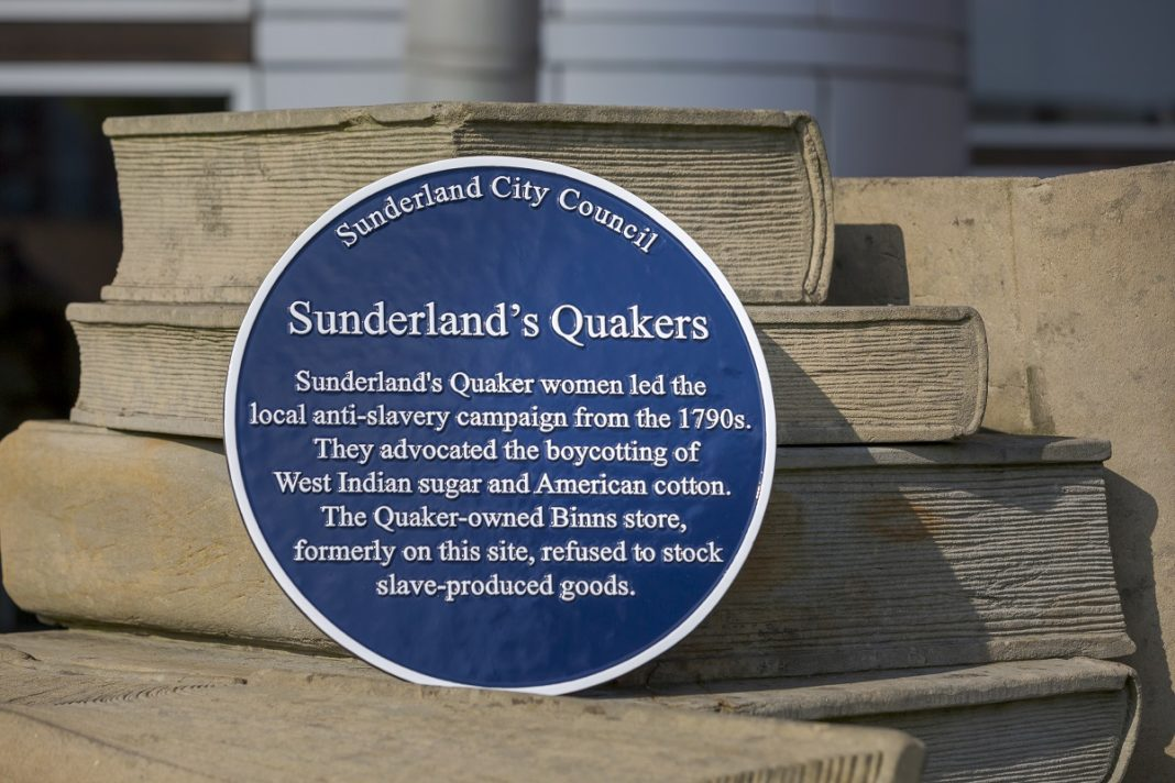 A Heritage Plague To Highlight The Activism Of Sunderland's Quaker Women