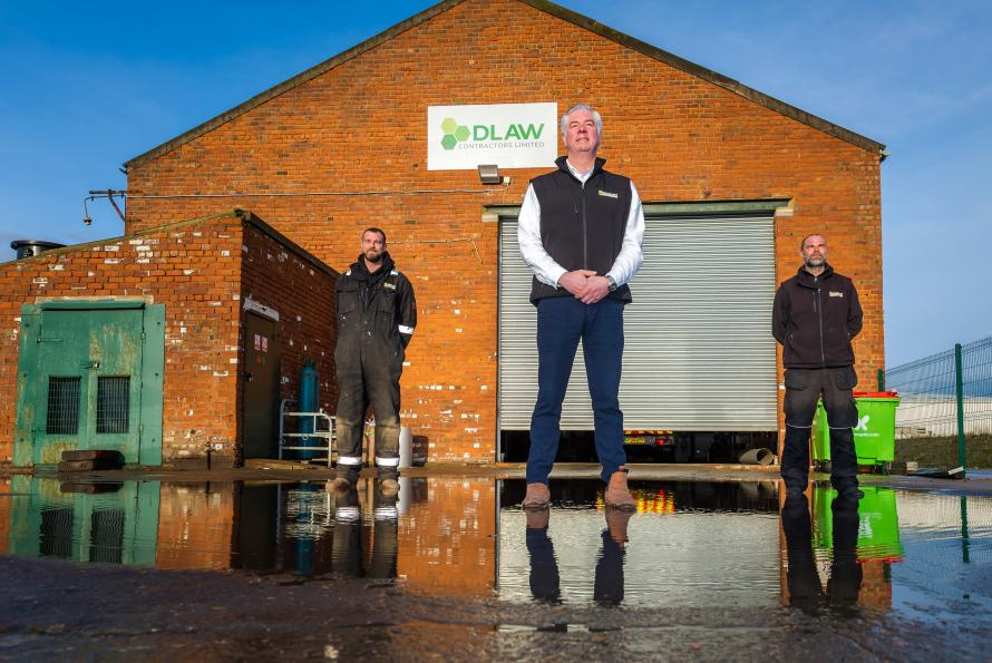 Waste Company Shows Commitment To Reducing Carbon Footprint By Buying Locally