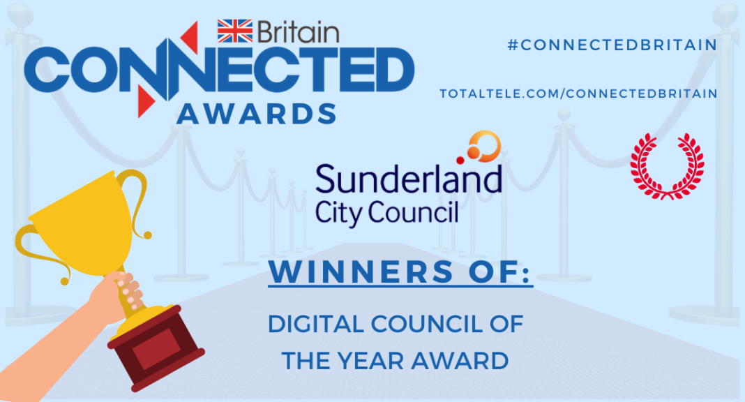 Sunderland Council Awarded As Digital Council Of The Year 2021